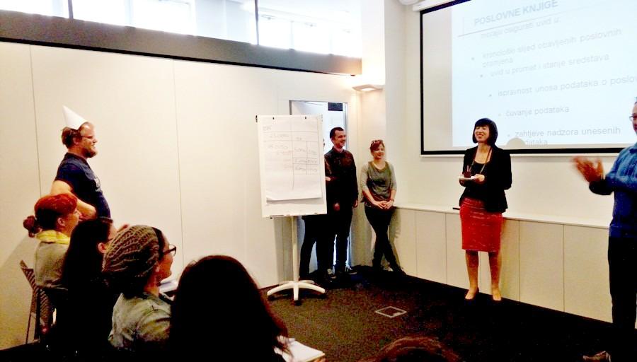Dnevnik startup akademije - Tamara rodendan