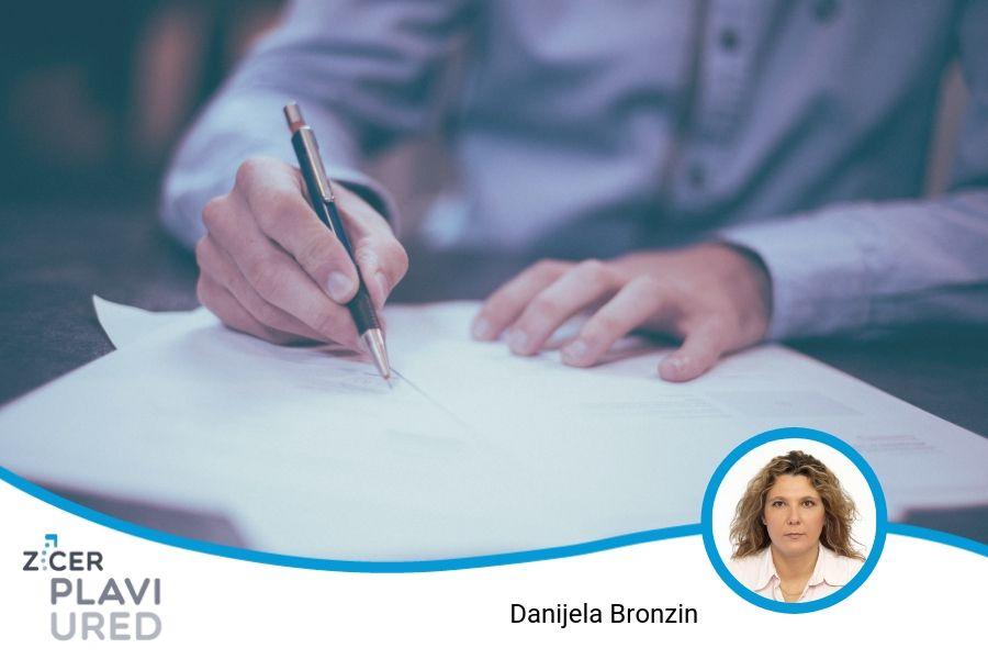 izrada i upravljanje dokumentima tvrtke plavi ured edukacija