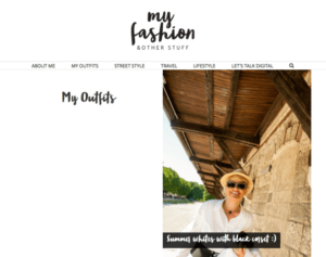 My Fashion and Other Stuff