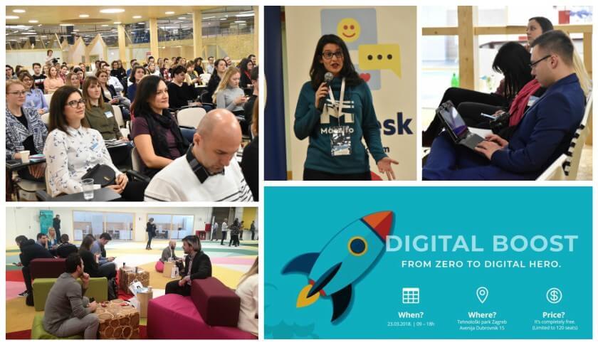 digital boost - from zero to digital hero plavi ured