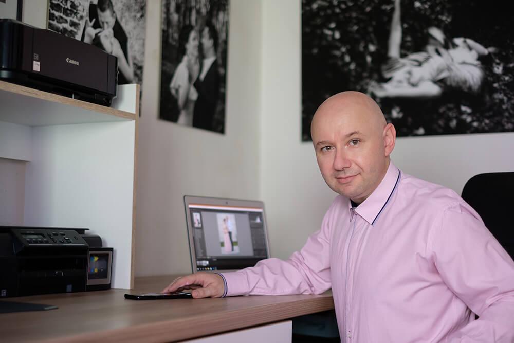Branko Vukina artistica - plavi ured