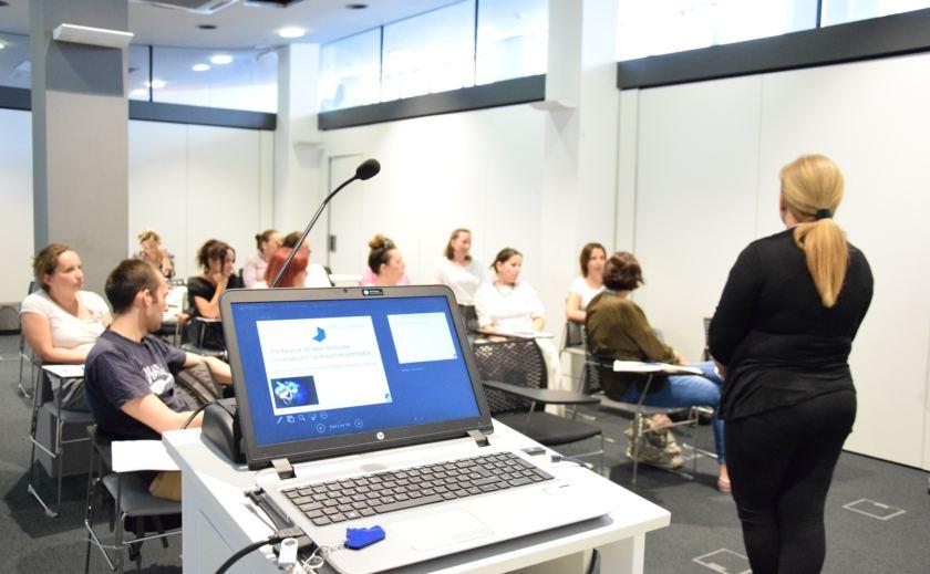 agencijski brief plavi ured predavanje