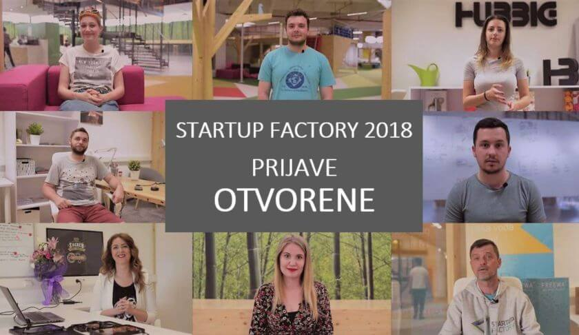Startup Factory 2018 plavi ured