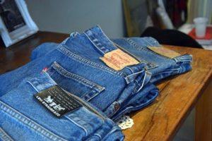 mango sticky rice vintage jeans