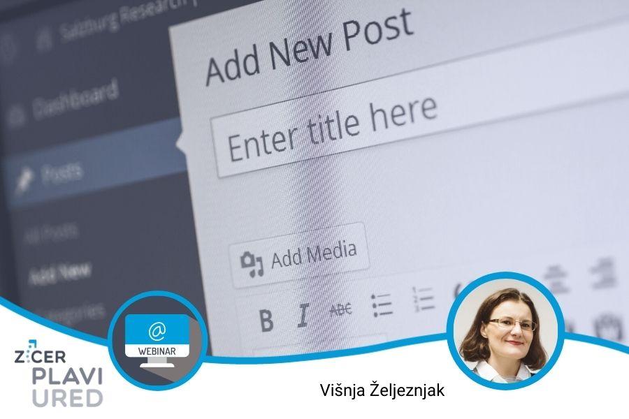 pisanje sadrzaja za usluzne web stranice zicer plavi ured webinar