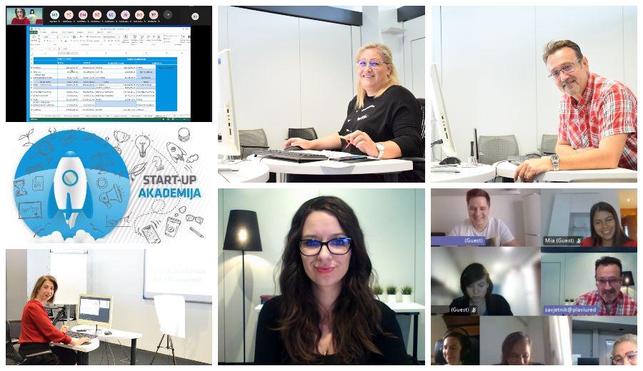 125. Start-up akademija zicer plavi ured