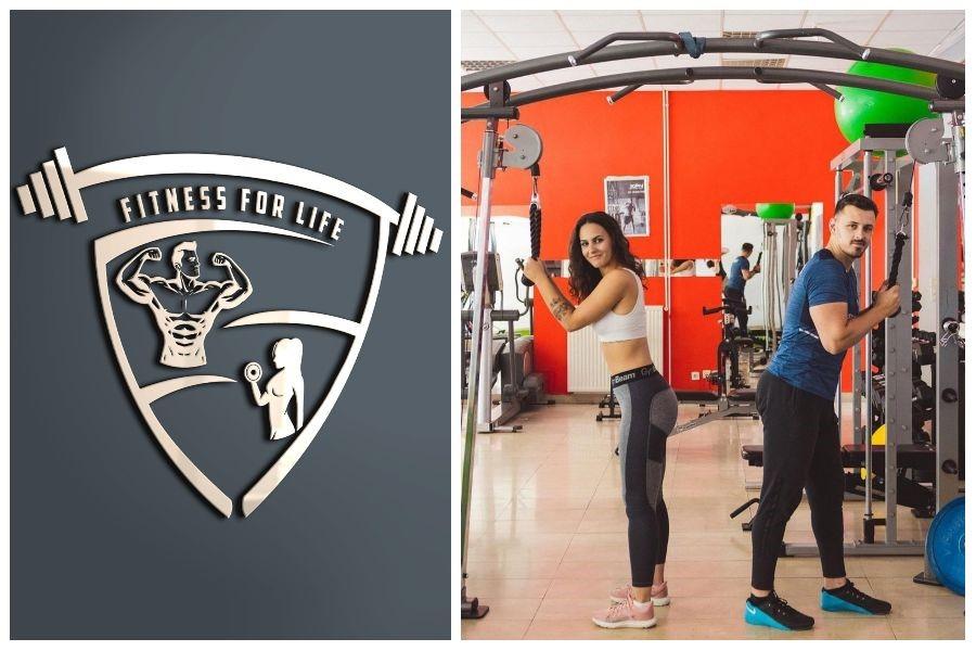 fitness for life zicer plavi ured